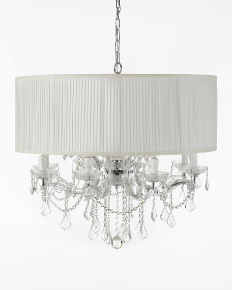 Cascade 12-Light Shaded Chandelier