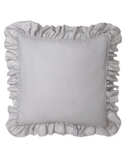 Basillo European Sham with Ruffle