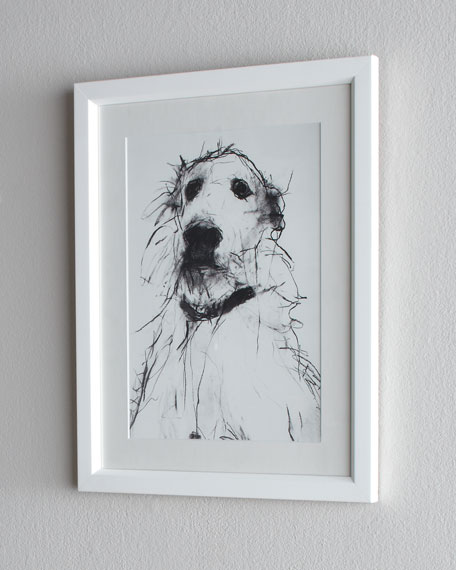 Scruffy Dog Print