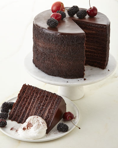24-Layer Chocolate Cake  For 8-10 People