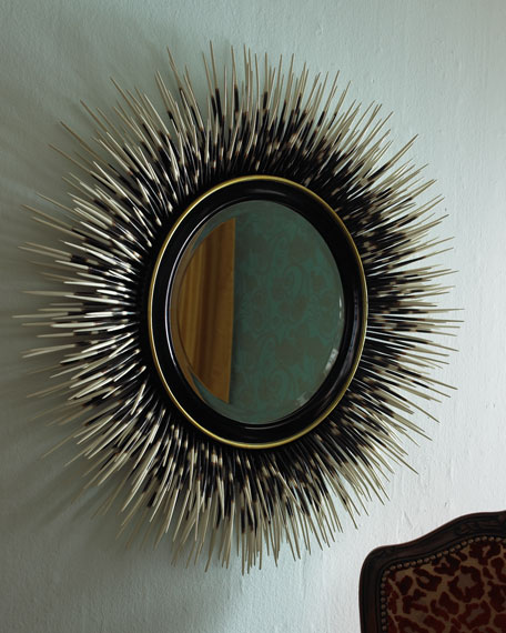"""Porcupine Quill"" Mirror"