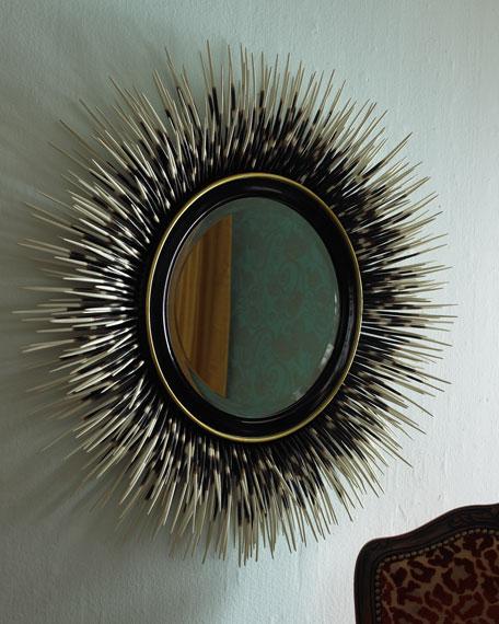 """Porcupine Quill"" Mirror"
