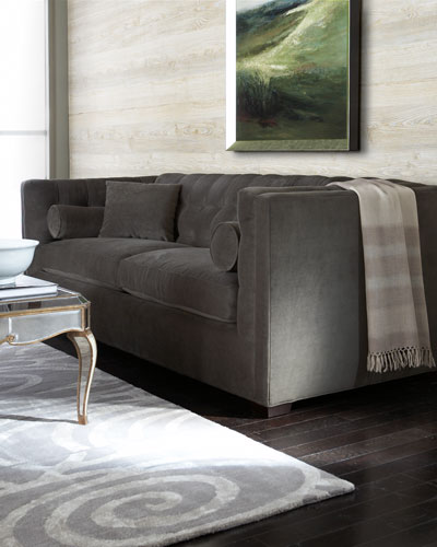 Dusk Button-Tufted Sofa 92