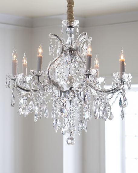 Crystorama Crystal Drop 9-Light Chandelier