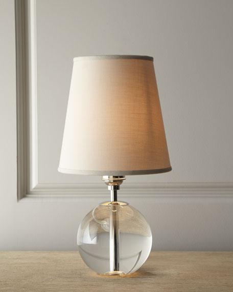 Crystal orb mini lamp