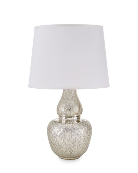 Harlequin Gourd Lamp