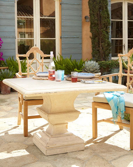 Alexandra Outdoor Urn Pedestal Table