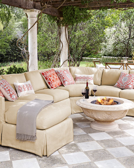 Lane Venture Outdoor Upholstered Sectional