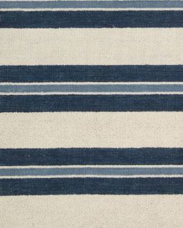 Harbour Stripe Rug, 5'3