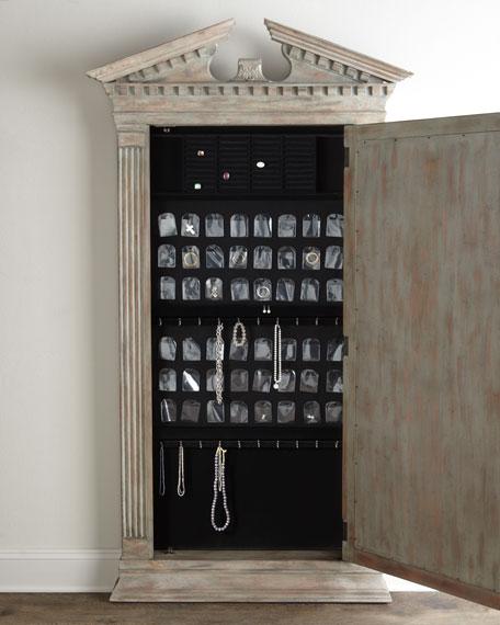 Cavalier Storage Floor Mirror