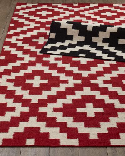 Aztec Chama Flatweave Rug, 3'6