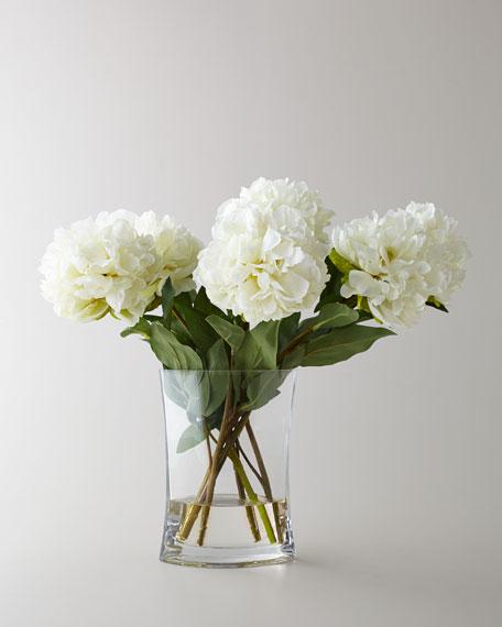 John-Richard Collection Heavenly Peonies Faux Floral Arrangement