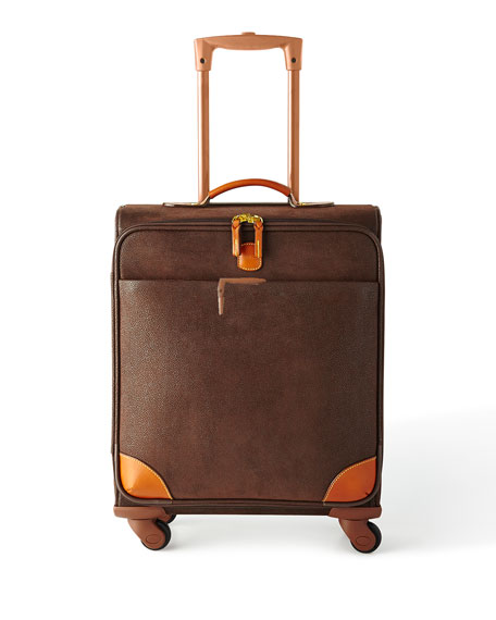 "Brown MyLife 20"" Spinner Luggage"