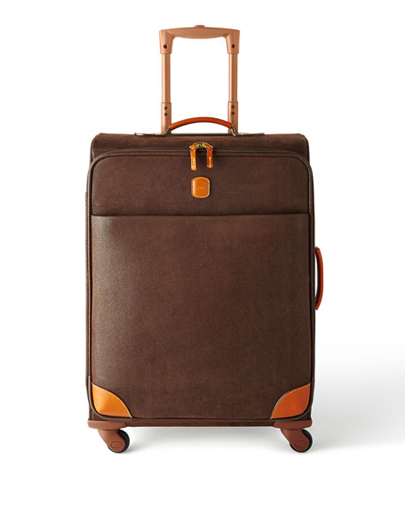 "Brown MyLife 25"" Spinner Luggage"