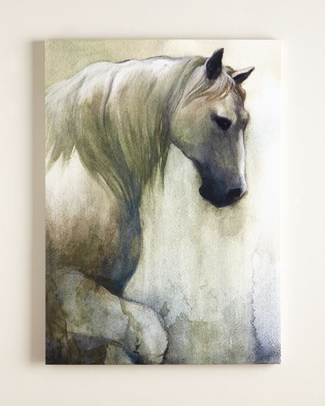 """Noble Steed"" Horse Print"