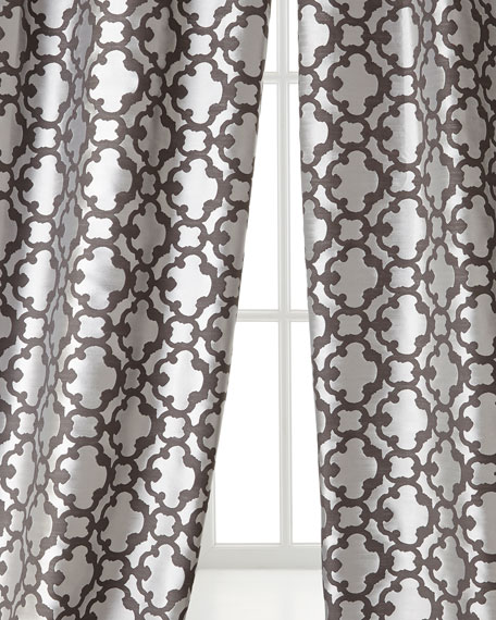 "Each 55""W x 96""L Palisade Tile Curtain"