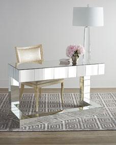 Regina Andrew Quinlan Mirrored Writing Desk