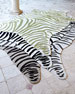 Maya Zebra Indoor/Outdoor Rug, 5' x 8'
