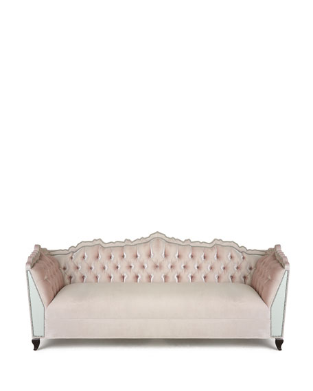 Santiago Mirrored Sofa 88""