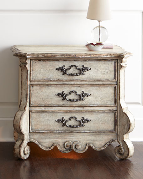 Hooker Furniture Estelline Three Drawer Nightstand