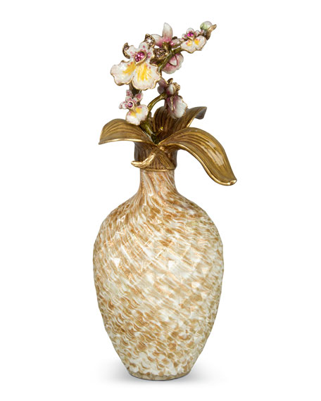 Orchid Branch Perfume Bottle