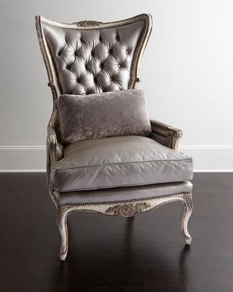 Jeraldine Leather Chair