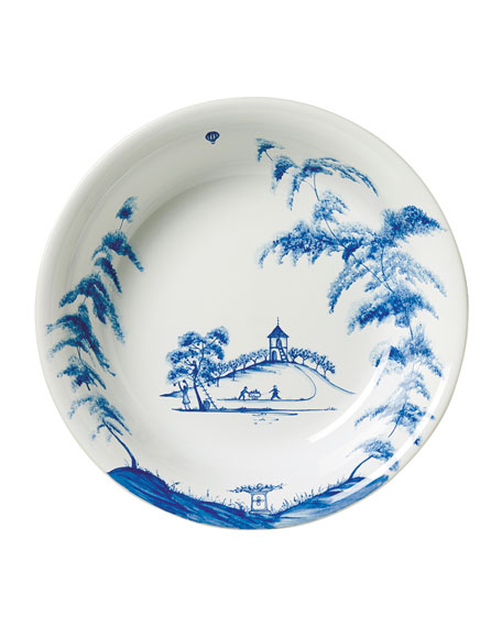 "Country Estate Delft Blue 10"" Serving Bowl"