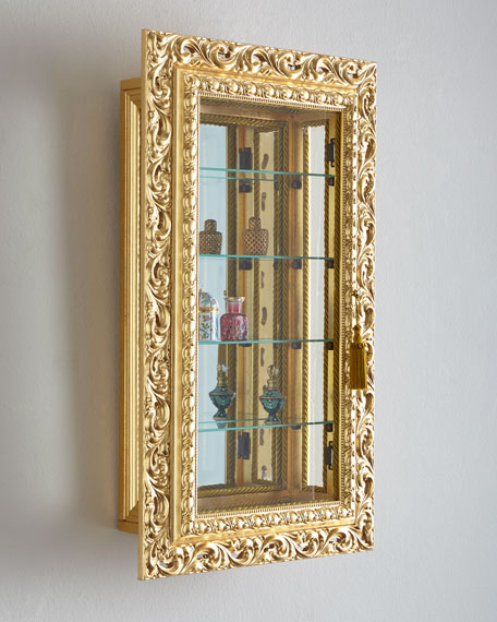 Four-Shelf Wall Vitrine