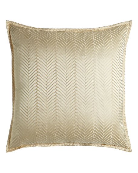 European Monfort Herringbone Sham