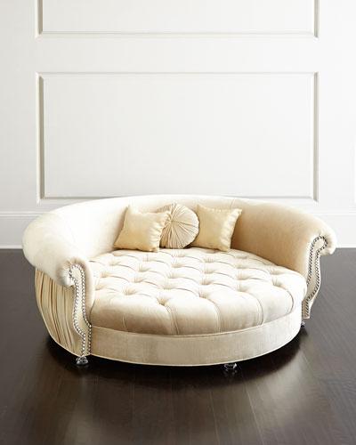 Harlow Cuddle Dog Bed