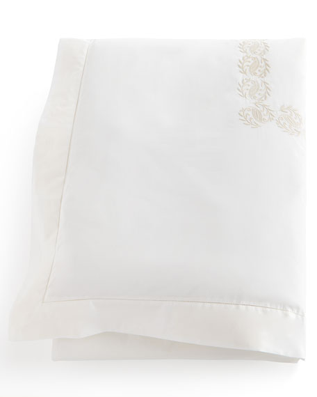 Queen Vienna Embroidered Duvet Cover