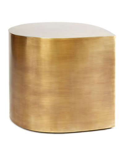 Brass Teardrop Table