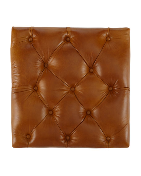 "Davidson 94"" Tufted Seat Chesterfield Sofa"
