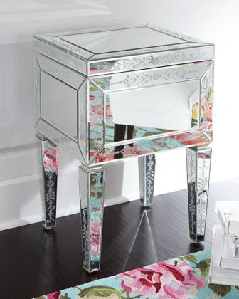 Venetian-Mirror File Box