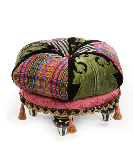 Portobello Road Footstool