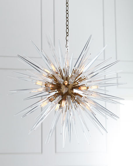 Chapman & Myers Quincy Medium 20-Light Sputnik Pendant