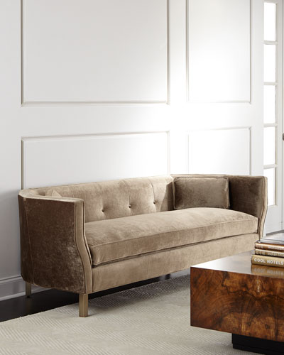 Betsey Button-Tufted Sofa 84