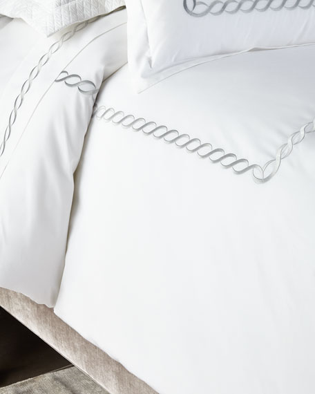 Kassatex King Catena Duvet Cover