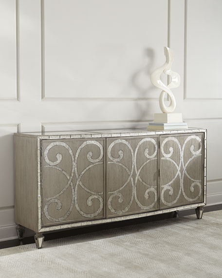 Hooker Furniture Juliet Mirrored Buffet