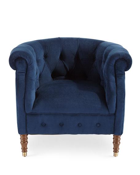 Navy Tub Chair