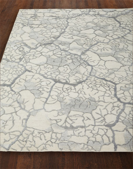 NourCouture Geneva Crackle Rug, 7'9