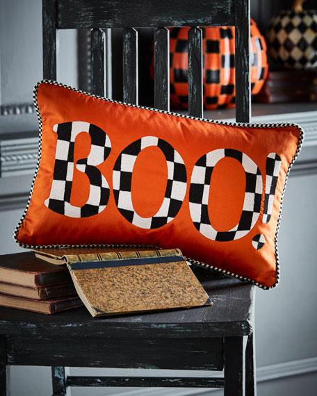 Boo! Halloween Pillow