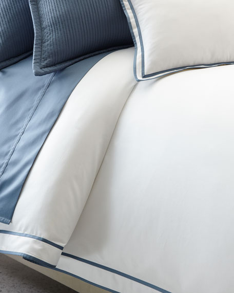 Full/Queen Spencer Border Duvet Cover