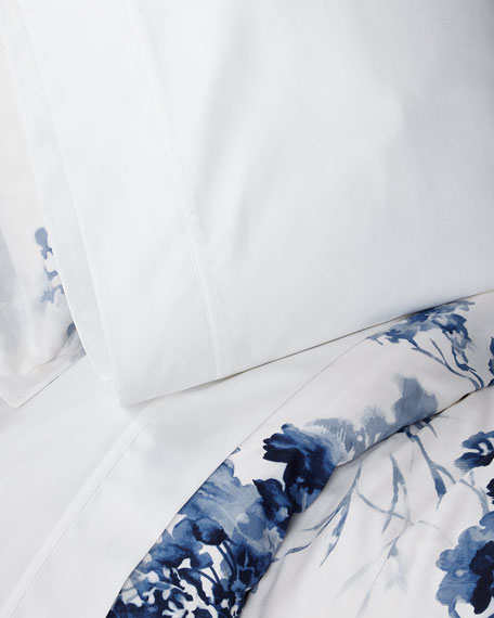 Queen Spencer Solid 4-Piece Sheet Set