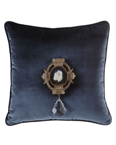 Joule Paris Quartz Medallion Pillow