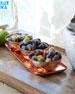 Copper Tray w/ Three Bowls
