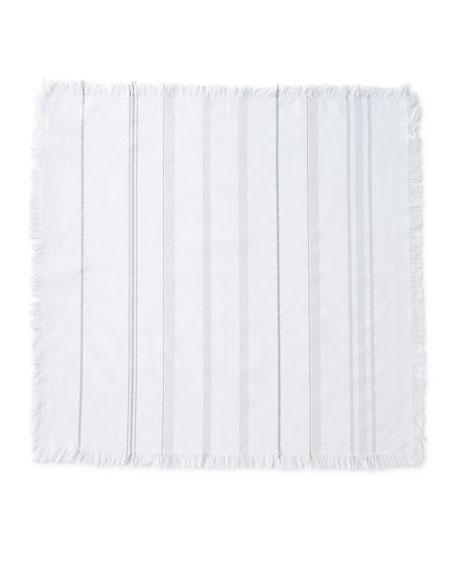 Variegated Metallic Stripe Napkin