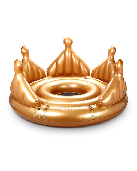 Royal Crown Island Pool Float