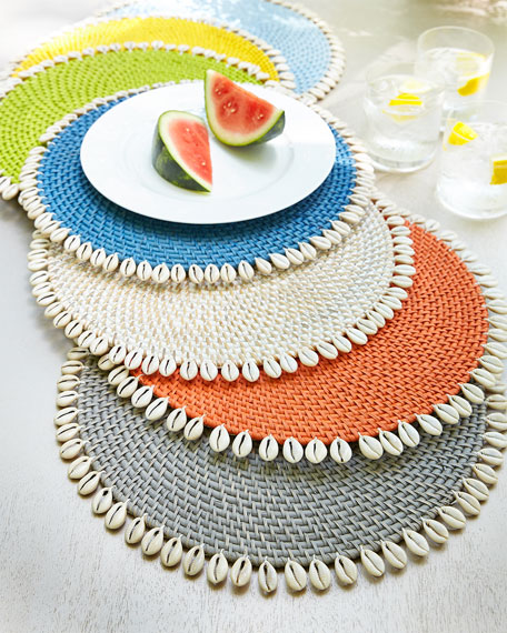 Capiz Placemats, Set of 4