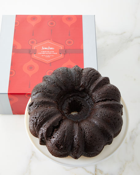 Neiman Marcus 4-lb. Chocolate Champagne Liqueur Cake